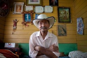 Costa Rican centenarian. Photo by Monique Quesada