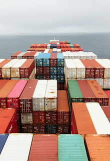 Containers Unsplash photo by Rinson Chory